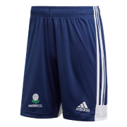 Marske CC Adidas Navy Training Shorts