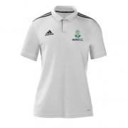 Marske CC Adidas White Polo