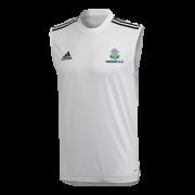 Marske CC Adidas White Training Vest