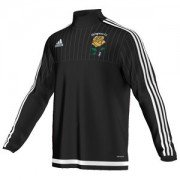 Shiregreen CC Adidas Black Junior Training Top