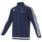 Uppingham Rovers CC Adidas Navy Training Top