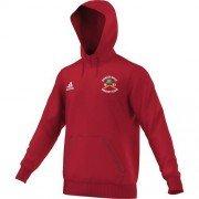 Darley Dale CC Adidas Red Junior Hoody (adult sizes)