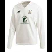 Faringdon & District CC Adidas Elite Long Sleeve Sweater