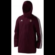 Kenton CC Maroon Adidas Stadium Jacket