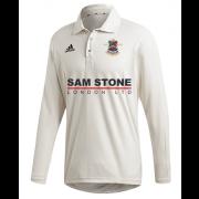 Kenton CC Adidas Elite Long Sleeve Shirt