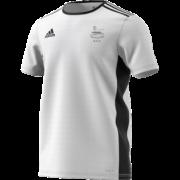 Glossop CC Adidas White Training Jersey