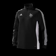 Glossop CC Adidas Black Training Top