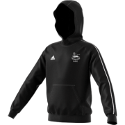 Glossop CC Adidas Black Junior Fleece Hoody