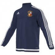 Townville CC Adidas Navy Training Top
