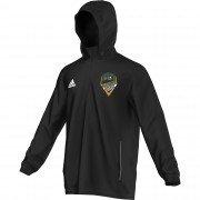 Clitheroe CC Adidas Black Rain Jacket