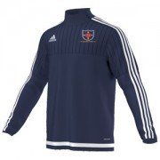 St Helens Town CC Adidas Navy Training Top