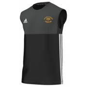Walsham Le Willows CC Adidas Black Training Vest