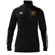 Walsham Le Willows CC Adidas Black Zip Training Top