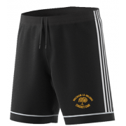 Walsham Le Willows CC Adidas Black Training Shorts
