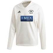Walsham Le Willows CC Adidas Elite Long Sleeve Sweater