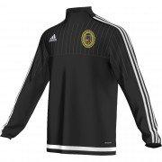 Springfield CC Adidas Black Junior Training Top