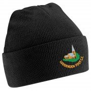 Luddenden Foot CC Black Beanie