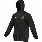 Luddenden Foot CC Adidas Black Rain Jacket