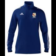 Dalton CC Adidas Blue Zip Junior Training Top