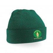 Ashwell CC Green Beanie