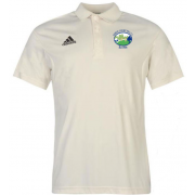 Hirst Courtney CC Adidas Pro Junior Short Sleeve Polo
