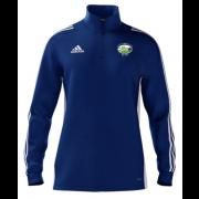 Hirst Courtney CC Adidas Blue Zip Junior Training Top