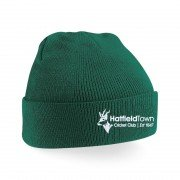Hatfield Town CC Green Beanie