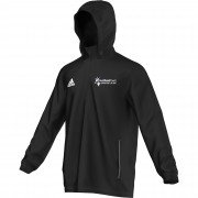 Hatfield Town CC Adidas Black Rain Jacket
