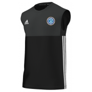 Fulham CC Adidas Black Training Vest