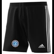 Fulham CC Adidas Black Junior Training Shorts