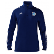Fulham CC Adidas Blue Zip Training Top