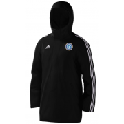 Fulham CC Black Adidas Stadium Jacket