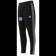 Fulham CC Adidas Black Junior Training Pants