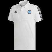 Fulham CC Adidas White Polo
