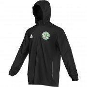 Tintwistle CC Adidas Black Rain Jacket