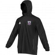 Lascelles Hall CC Adidas Black Rain Jacket