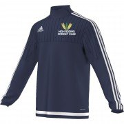 High Roding CC Adidas Navy Training Top