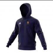 Braunton CC Adidas Navy Junior Fleece Hoody