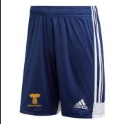 Braunton CC Adidas Navy Training Shorts