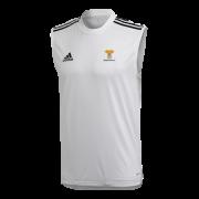 Braunton CC Adidas White Training Vest