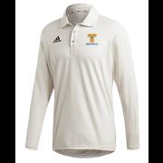 Braunton CC Adidas Elite Long Sleeve Shirt