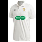 Braunton CC Adidas Elite Junior Short Sleeve Shirt