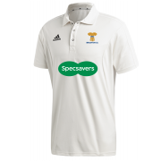 Braunton CC Adidas Elite Short Sleeve Shirt