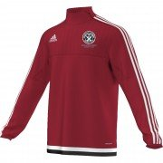 Guilsfield & Llandrino CC Adidas Red Training Top