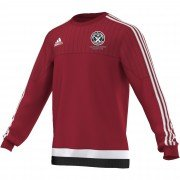 Guilsfield & Llandrino CC Adidas Red Sweat Top