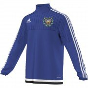 Woodvale CC Adidas Blue Training Top