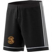 Rushton CC Adidas Black Training Shorts