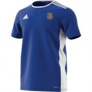 Rushton CC Adidas Blue Junior Training Jersey
