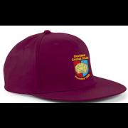 Devizes CC Maroon Snapback Hat