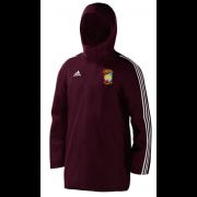 Devizes CC Maroon Adidas Stadium Jacket